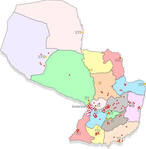 Mapa Oportunet Fase III